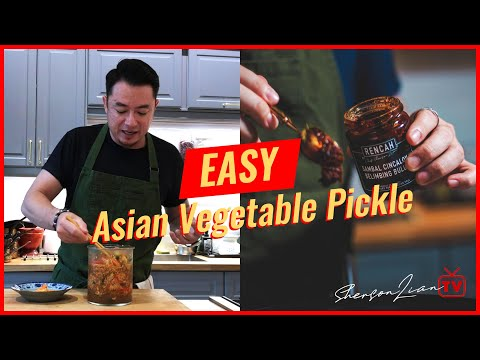 #RencahRecipes: Easy Asian Vegetable Pickle (Acar)