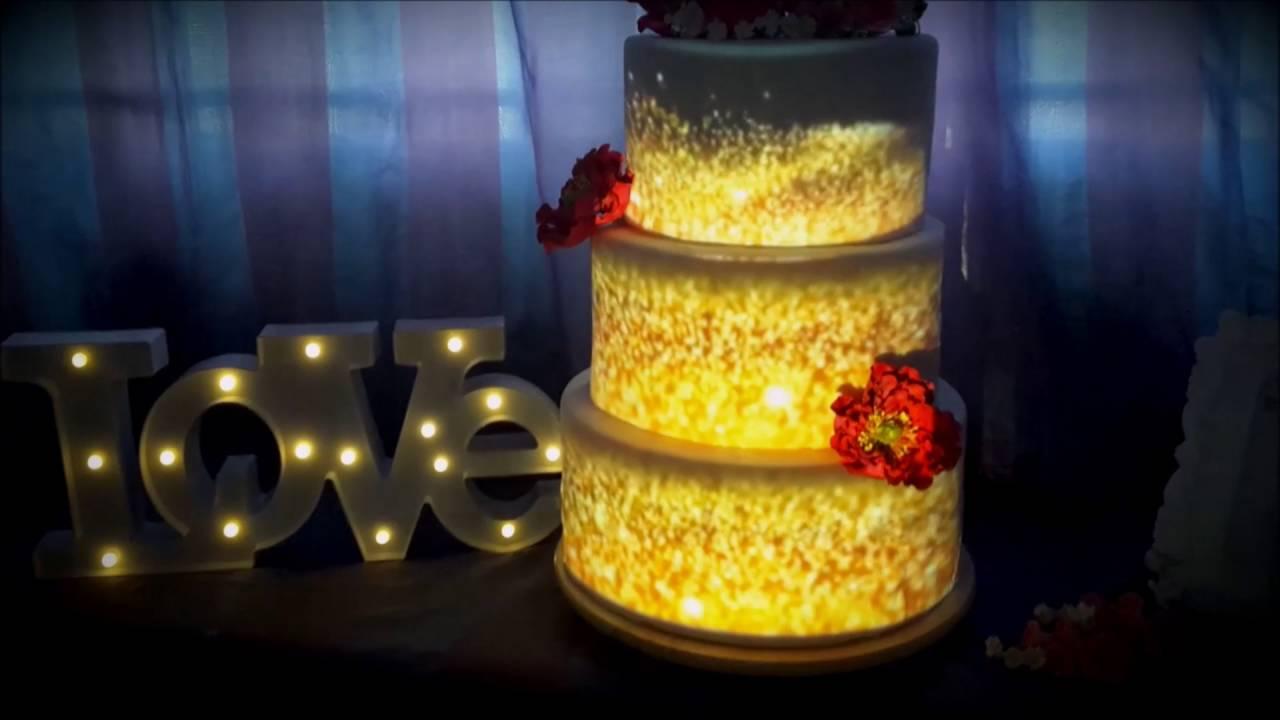 wedding cake mapping - YouTube