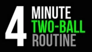 How To: Improve Your Ball Handling   Daily 4 Minute Two Ball Routine   Pro Training Basketball