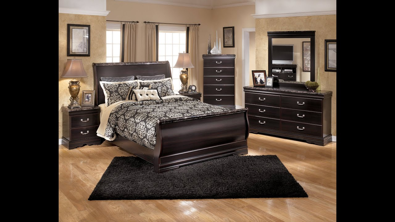 Ashley Furniture Esmarelda Bedroom Set YouTube - Ashley furniture store bedroom sets