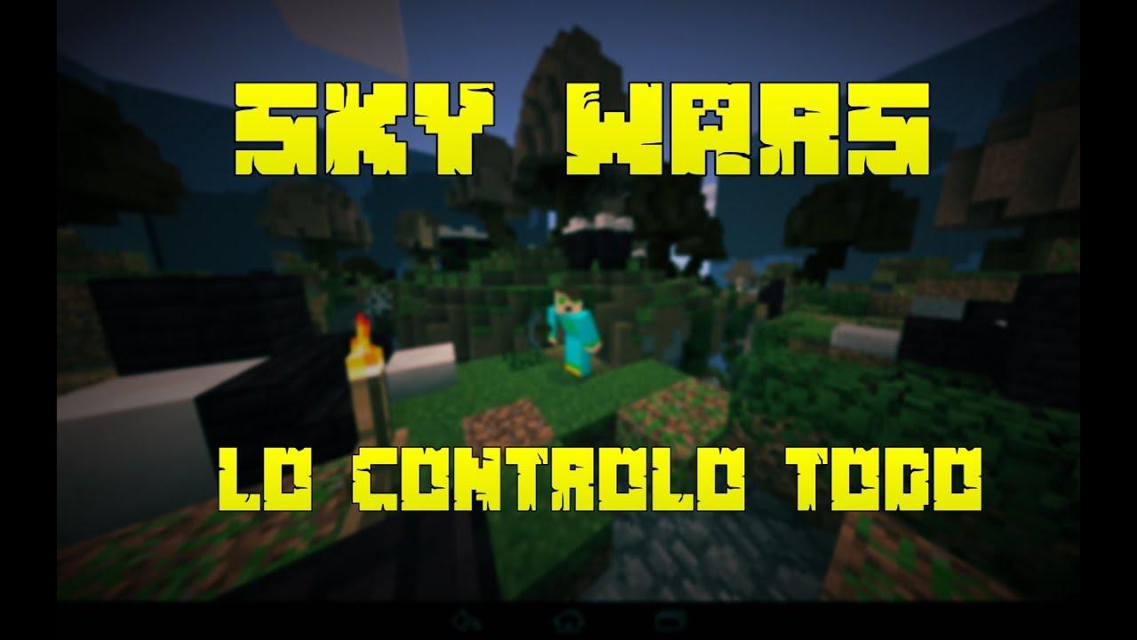 Servers de Minecraft pe 0.12.1   Servers Sky Wars - YouTube