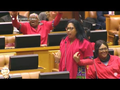 EFF Takes On Blade Nzimande In Parliament