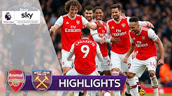 Leno blockt alles weg! | FC Arsenal - West Ham United 1:0 | Highlights - Premier League 2019/20