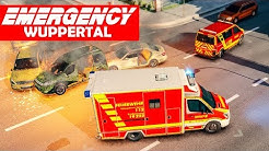 EMERGENCY Wuppertal #1: Mit BLAULICHT zum Brand! | Rettungs-Simulation Gameplay