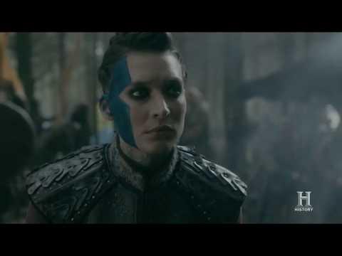 Vikings - Lagertha Kills Astrid [Season 5 Official Scene] (5x10) [HD]