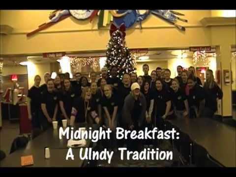 UIndy Tradition: Midnight Breakfast 2010