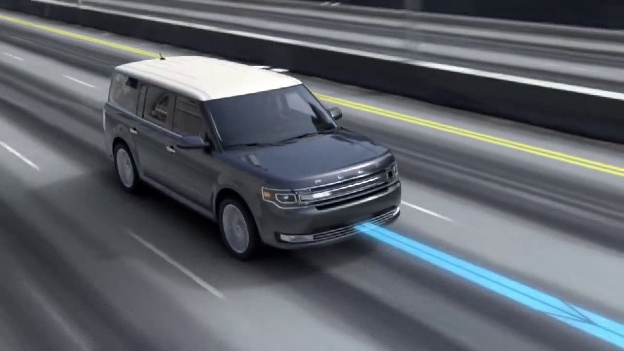 Ford flex adaptive cruise control and collision warning with brake support