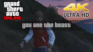 I am the BEAST in Hunt the Beast GTA 5 Online Freemode Event 4K 60fps