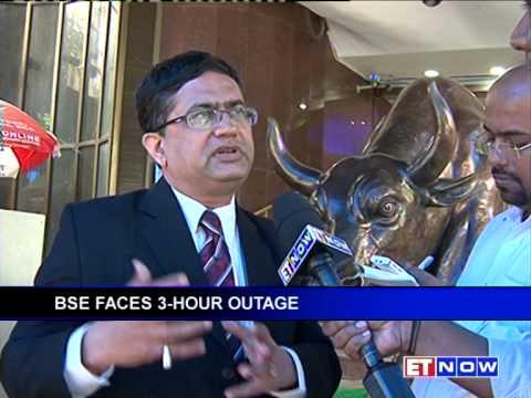 BSE Blackout -- Bombay Stock Exchange Shut Down For 3 Hrs On Thursday