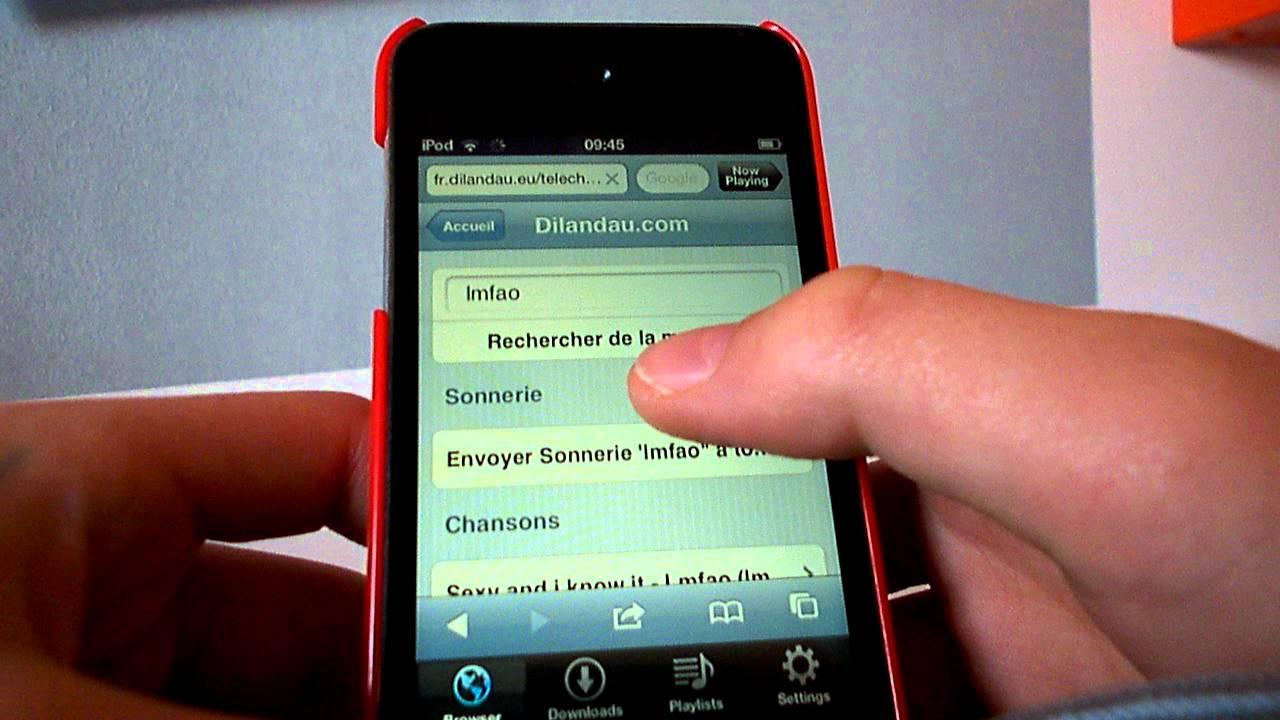 Telecharger de la musique sur ipod touch