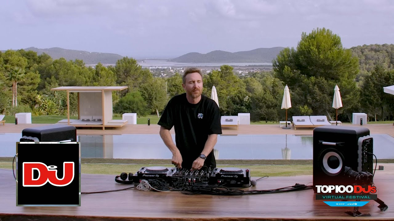 Download David Guetta DJ Set From The Top 100 DJs Virtual Festival 2020