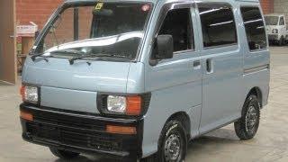 1997 S110V-027765 minitruckdealer.com California Inventory #24F458 Daihatsu Hijet Van 4WD 63000kms