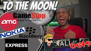Gamestop AMC EXPR NOK Stock Market Takeover | What's Happening? BUY NOW! (WallStreetBets)