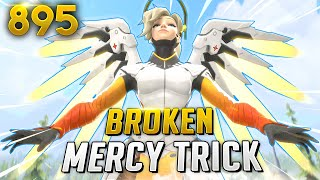 ML7 Shows The MOST BROKEN Mercy TRICK!!   Overwatch Daily Moments Ep. 895 (Funny and Random Moments)