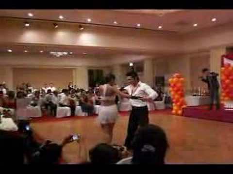 Filipino Dance club Dubai - rhumba presentation