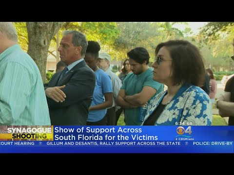 Vigil Tuesday Night On Miami Beach For Pittsburgh Synagogue Shooting Victims
