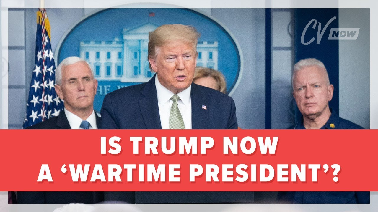 Is Trump Now a 'Wartime President'?