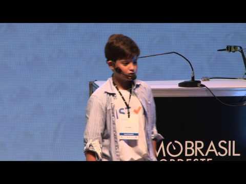 """Menino de 13 anos faz sucesso com startup e diz que """"empreender é como brincar"""""""