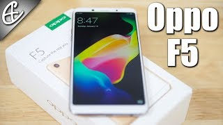 oppo f5 6 18 9 display   20mp selfie camera unboxing hands on