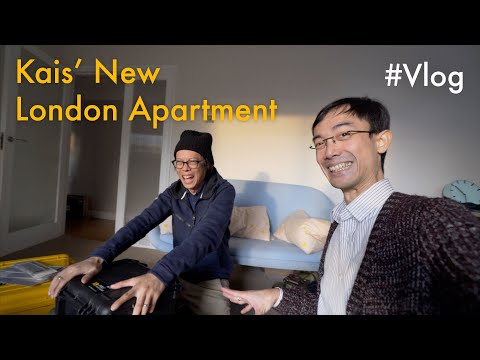 Kai's new London apartment!