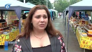 На площади Победы начала свою работу ярмарка меда «Пчелкино»