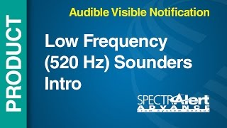 AV - Low Frequency -- Low Frequency (520 Hz) Sounders Intro YouTube Videos