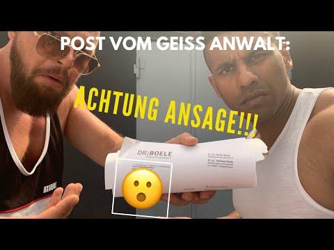 POST VOM ROBERT GEISS ANWALT! 200.000 EUR!! ACHTUNG ANSAGE!!!