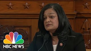 Pramilia Jayapal: 'The President Is The Smoking Gun' | NBC News Video