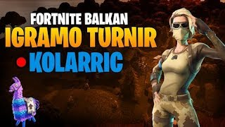 CONQUER SCORPION SKIN | U FORTNITE TOURNAMENT | FORTNITE BALKAN