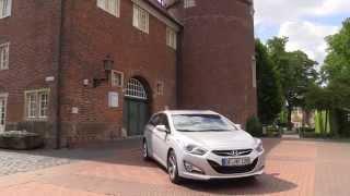 Hyundai i40 Tourer Kombi test drive review Hyundai Sonata Autogefhl