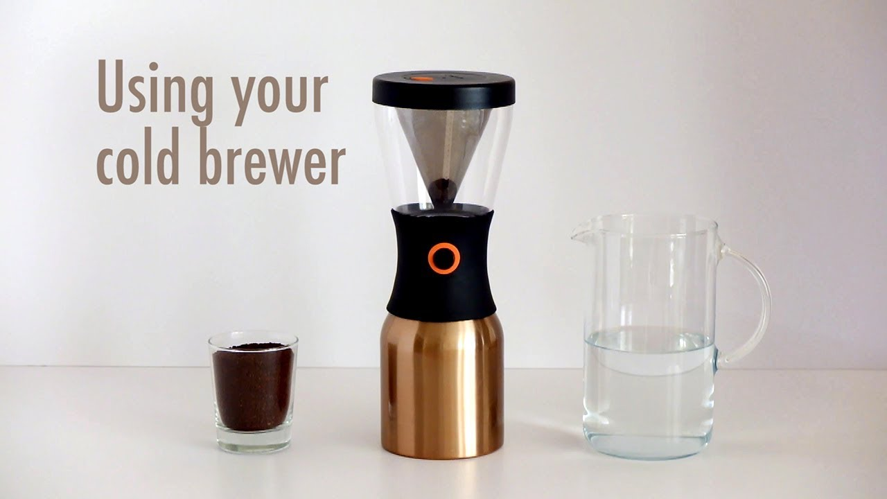 7caf4a10a35 How to make cold brew coffee with the Asobu cold brewer - YouTube