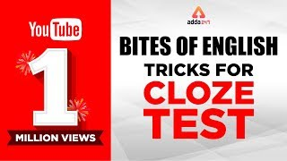 Bites of English : Tricks for Cloze Test