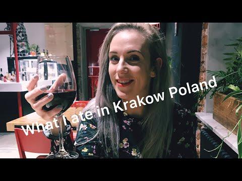 Krakow Poland weekend | what we ate | doughnuts | pizza | dumplings | pancakes