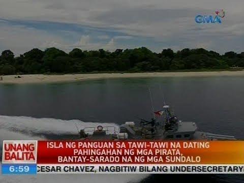 UB: Isla ng Panguan sa Tawi-Tawi na dating pahingahan ng mga pirata, bantay-sarado na ng mga sundalo