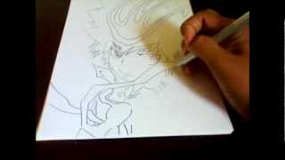 How I draw Tsuna