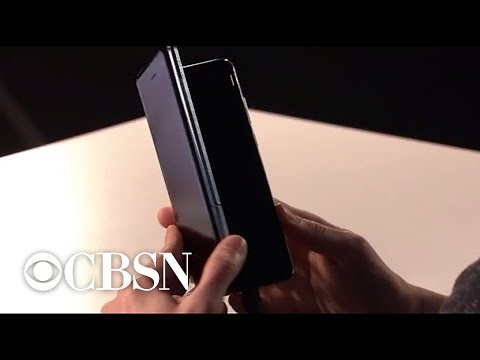 Samsung's new devices include pricey foldable smartphone