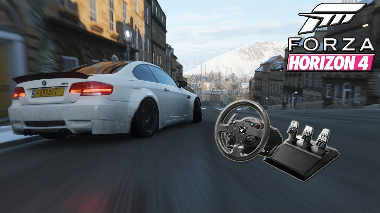 Forza Horizon 4 Drift Wheel Settings!