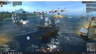 Видео World of sea battle Битва за Бриджтаун от TeHbBoMpake, Бриджтаун, Барбадос