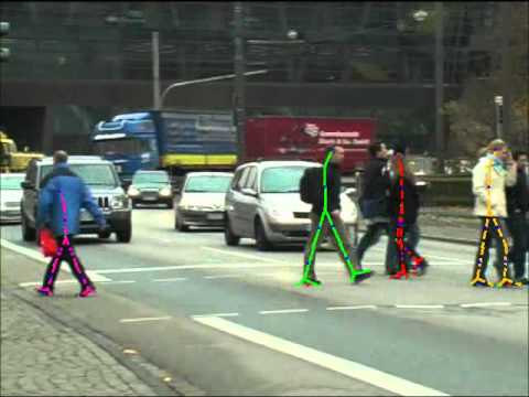 video surveillance with human gait recognition.avi
