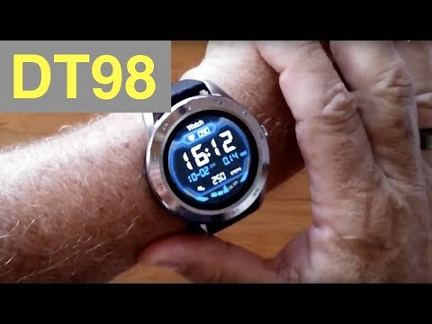 No.1 DT98 ECG+PPG IP68 Waterproof Sports/Business/Health Smartwatch: Unboxing And 1st Look