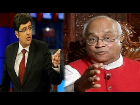 The Newshour Debate: Ved Pratap Vaidik Faces Arnab Goswami