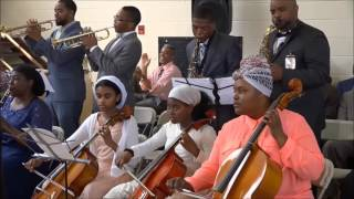 He Did It All/Thank You Lord -  First Church Brass Band [Telecast]