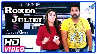 Romeo Juliet Tamil Movie | Scenes | Hansika tries a make over of Jayam Ravi