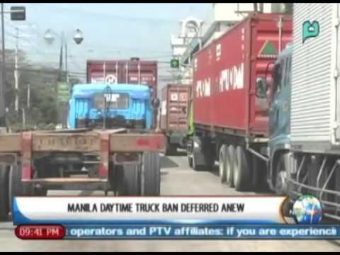 NewsLife: Manila daytime truck ban deferred anew || February 21, 2014