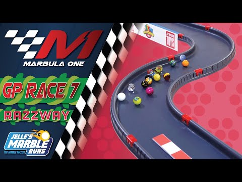 Marbula One: Razzway GP (S1R7) - Marble Race by Jelle's Marble Runs