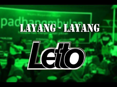 Letto Acoustic - LAYANG LAYANG + Lirik (Live @PadhangMbulan Jombang 11 Mei 2017)