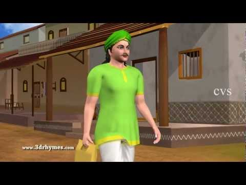 Narayana Narayana Nakka toka - 3D Animation Telugu Rhymes For children with Lyrics thumbnail