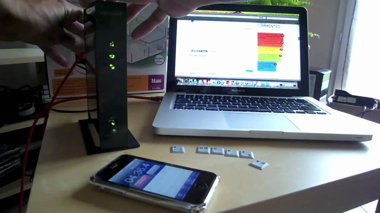 test du relais wifi netgear wn2000rpt youtube. Black Bedroom Furniture Sets. Home Design Ideas