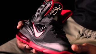 Nike LEBRON 9: Charles Williams,  Jason Petrie  & Lebron James