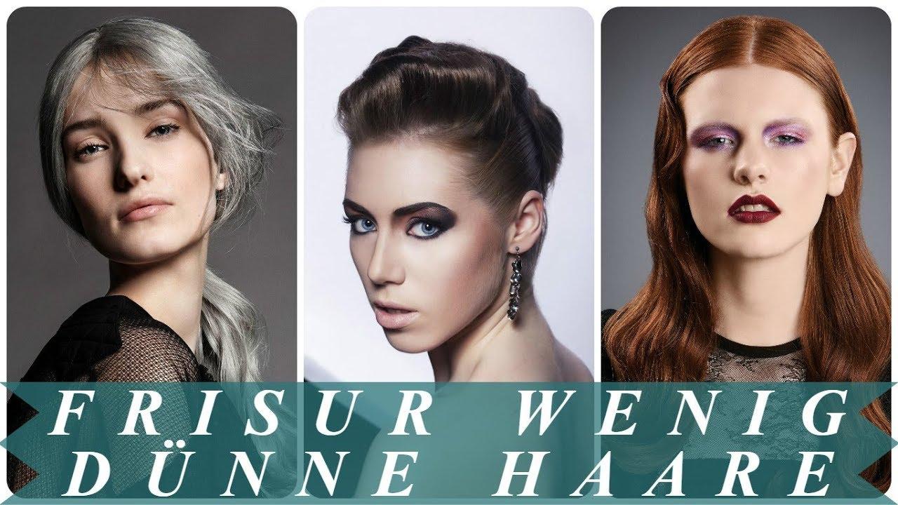 Beste Frisuren Für Dünnes Und Wenig Haar 2018 Frisuren Youtube